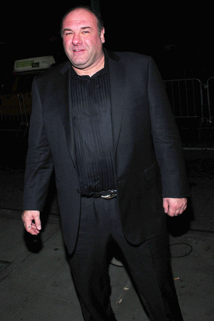 2012 New York Film Critics Circle Awards at Crimson - Outside Arrivals Featuring: James Gandolfini Where: New York, United States When: 07 Jan 2013 Credit: Dan Jackman/WENN.com