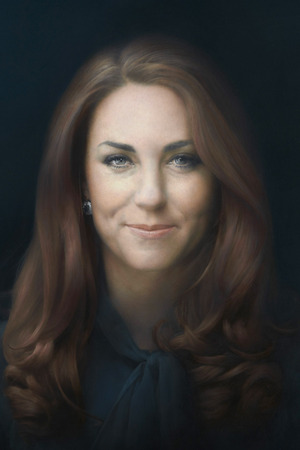 Kate Middleton's first official portrait, Duchess of Cambridge