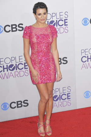 39th Annual People's Choice Awards at Nokia Theatre L.A. Live - Arrivals Featuring: Lea Michele Where: Los Angeles, California, United States When: 09 Jan 2013 Credit: Apega/WENN.com