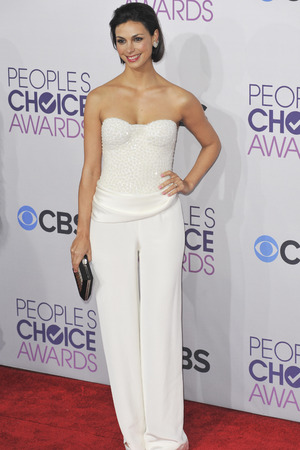 39th Annual People's Choice Awards at Nokia Theatre L.A. Live - Arrivals Featuring: Morena Baccarin Where: Los Angeles, California, United States