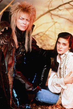 David Bowie, Jennifer Connelly in 'Labyrinth' (1986)