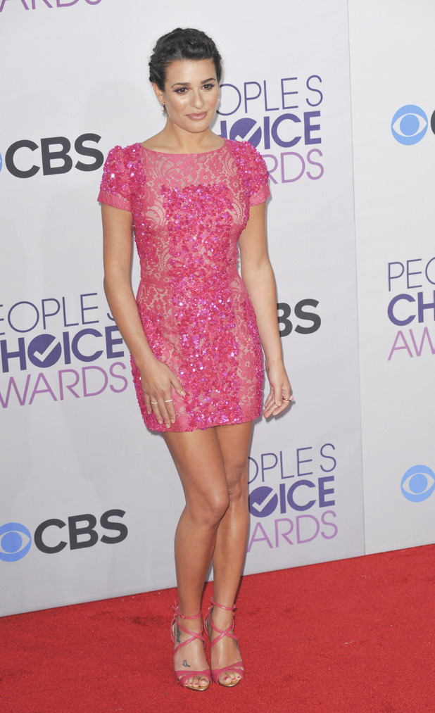 Lea Michele, 39th Annual People's Choice Awards
