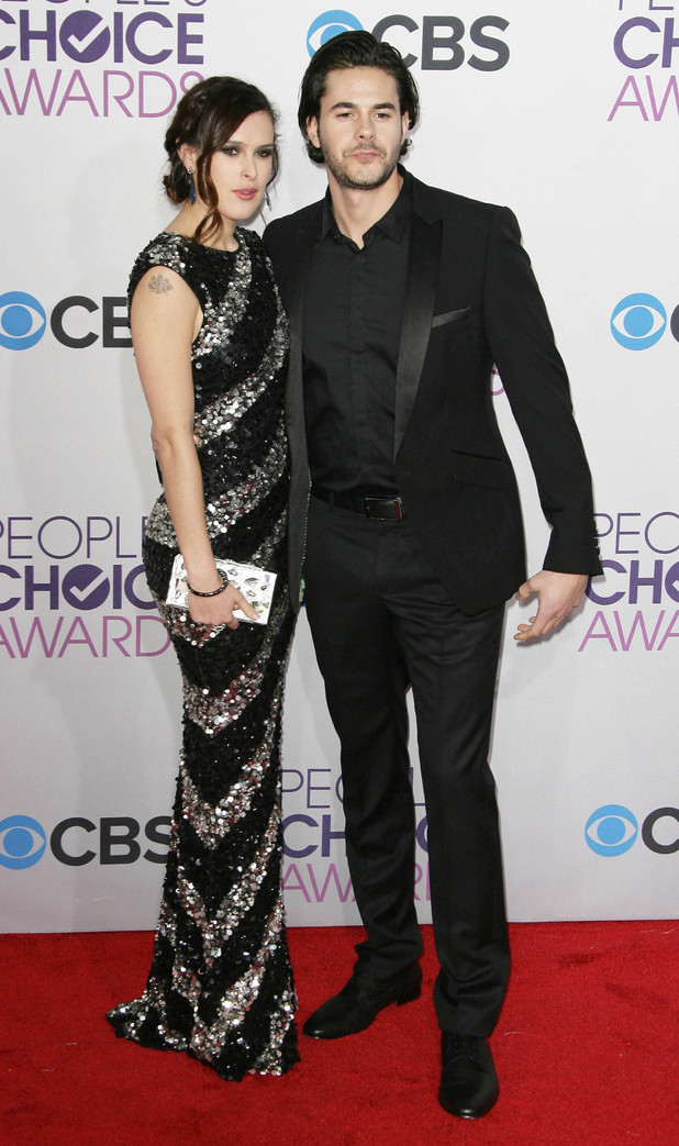 Rumer Willis and Jason Blair