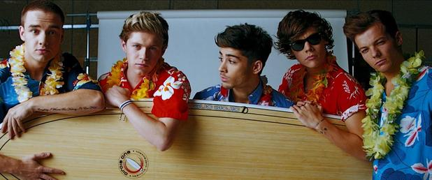 One Direction 'Kiss Me' video stills