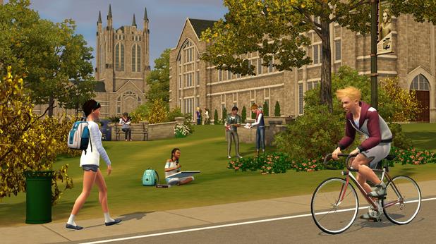 'The Sims 3: University Life' screenshot