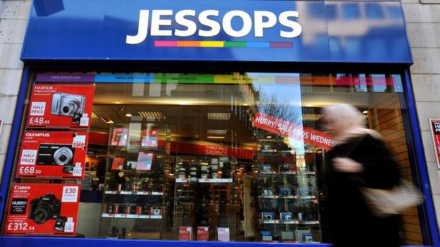 Jessops camera store