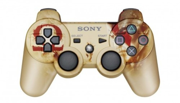 'God Of War: Ascension' dualshock 3 controller