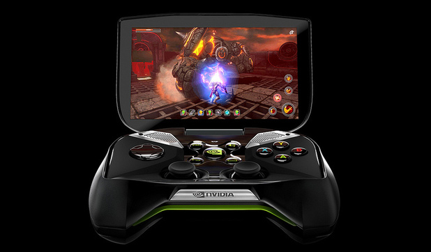 nVidia Project Shield handheld Android console