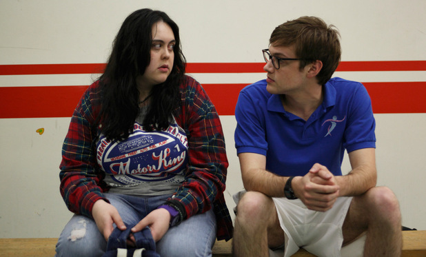 &#39;My Mad Fat Teenage Diary&#39; - Rae Earl (Sharon Rooney), Archie (Dan Cohen)