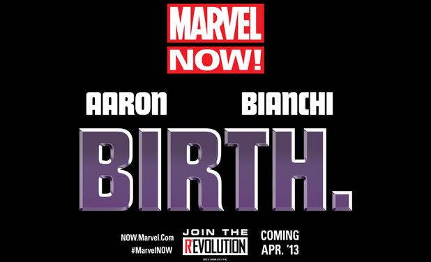 Marvel NOW! Birth teaser