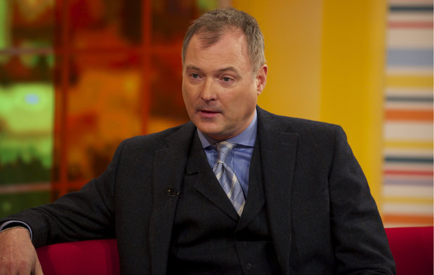 John Leslie appears on 'Daybreak'