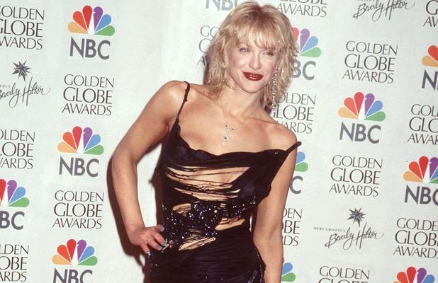 Courtney Love, Golden Globes 2000