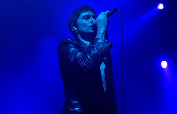 Brett Anderson of Suede performs live in concert