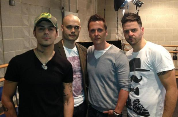 5ive reunite for ITV2's 'The Big Reunion'.