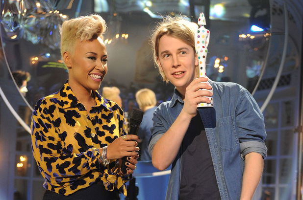 The Brit Awards 2013 launch night: Emeli Sande & Tom Odell