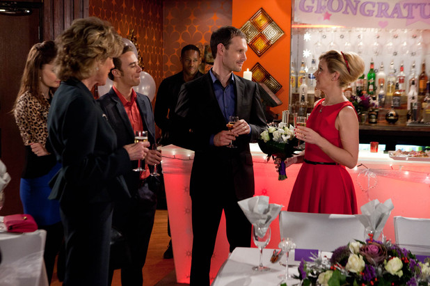 Corrie: Nick & Leanne's wedding reception