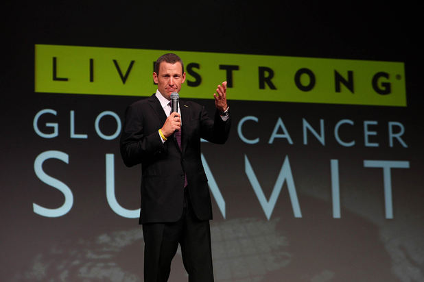Lance Armstrong, October 2011 Livestrong summit