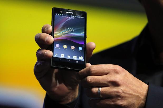 Xperia Z smartphone