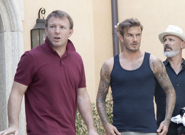 David Beckham, H&M, Guy Ritchie