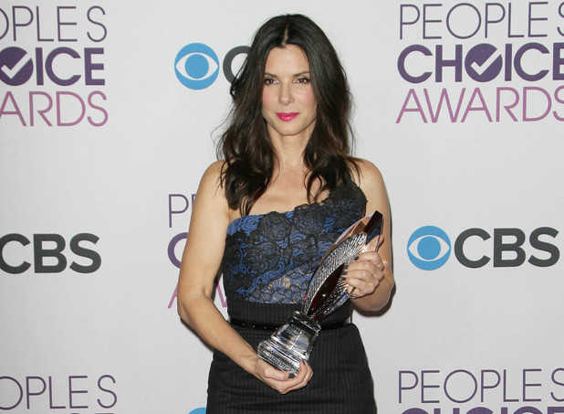 39th Annual People's Choice Awards at Nokia Theatre L.A. Live - Press Room: Sandra Bullock