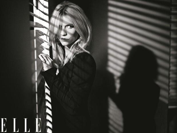 Claire Danes, US Elle, February 2013