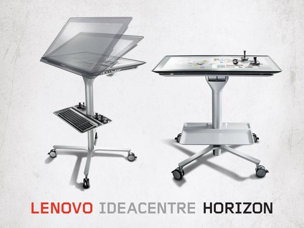 Lenovo 27-inch touchscreen table PC &#39;Horizon&#39;