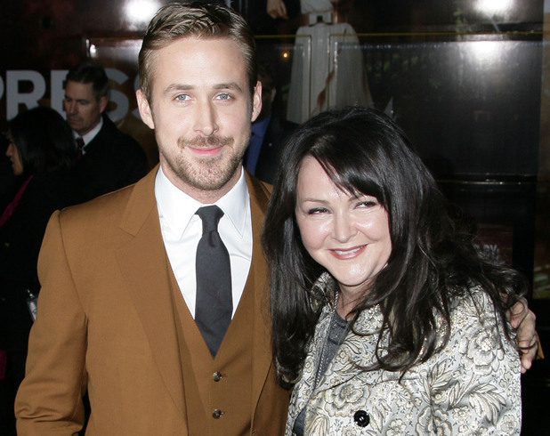 The Los Angeles World Premiere of 'Gangster Squad' held at Grauman's Chinese Theater - Arrivals Featuring: Ryan Gosling with mother Donna Gosling Where: Hollywood, California, United States When: 07 Jan 2013