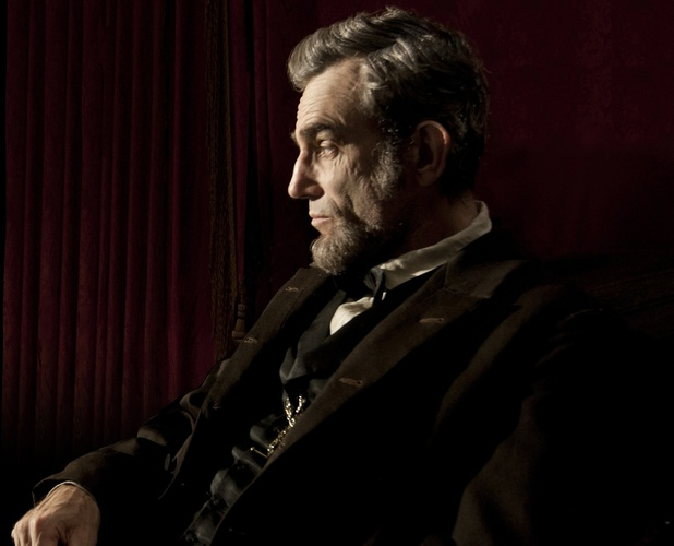 'Lincoln' still, Daniel Day-Lewis