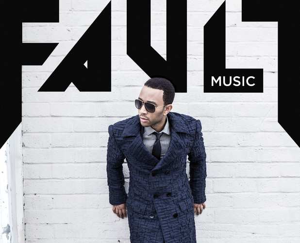John Legend 'Fault' magazine cover.