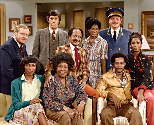 'The Jeffersons' cast (undated press shot)