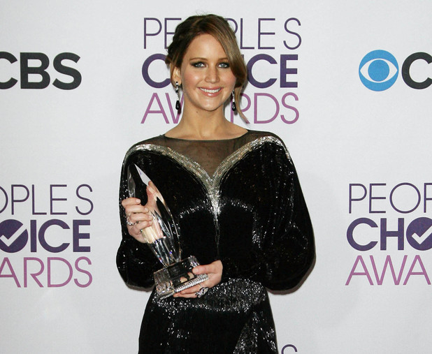39th Annual People's Choice Awards at Nokia Theatre L.A. Live - Press Room Featuring: Jennifer Lawrence