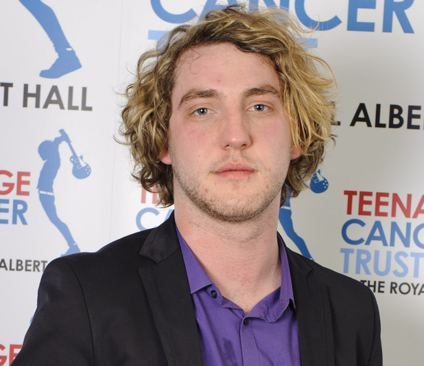 Comedian Seann Walsh pictured backstage at the Concerts for Teenage Cancer Trust, at the Royal Albert Hall in west London.