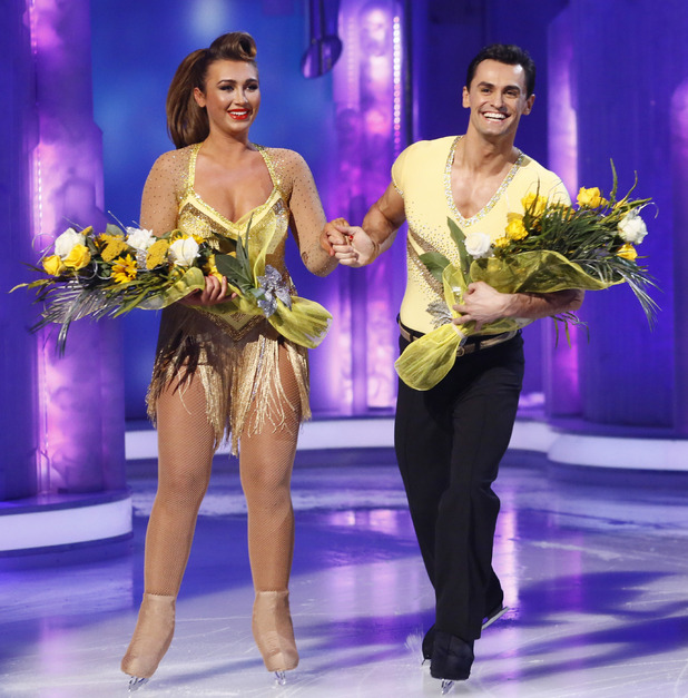 Dancing on Ice Week 2: Lauren Goodger and Michael Zenezini are voted off by the judges