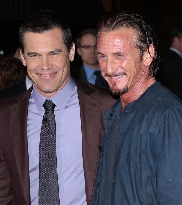 The Los Angeles World Premiere of 'Gangster Squad' held at Grauman's Chinese Theater - Arrivals Featuring: Josh Brolin, Sean Penn Where: Los Angeles, California, United States When: 07 Jan 2013