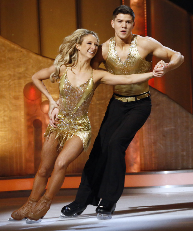 Dancing on Ice Week 2: Luke Campbell and Jenna Harrison