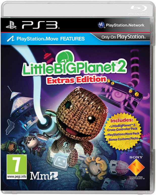 LittleBigPlanet 2 Extras Edition box art