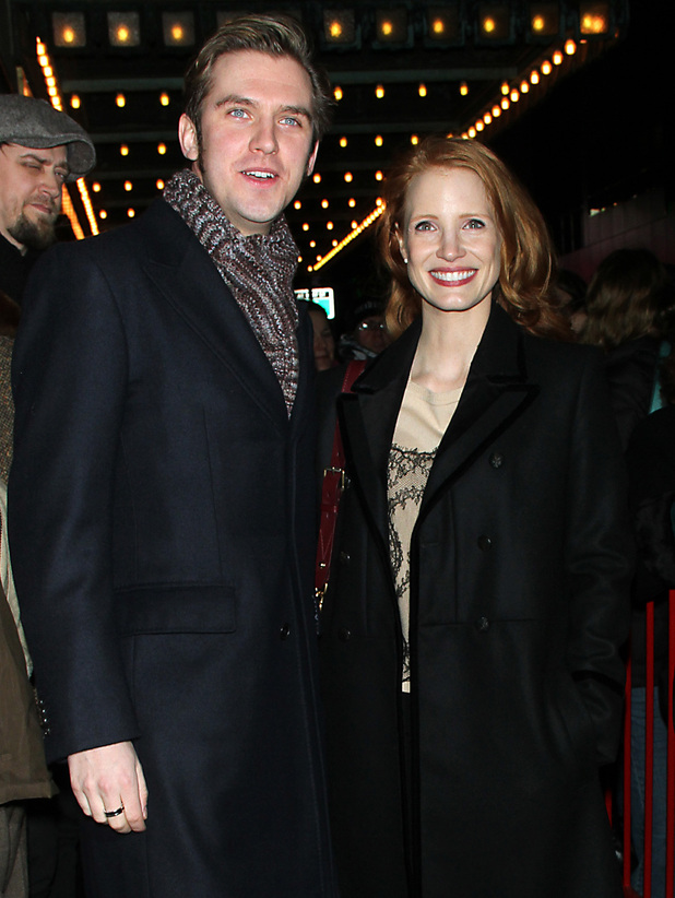 Dan Stevens, Jessica Chastain, The Heiress