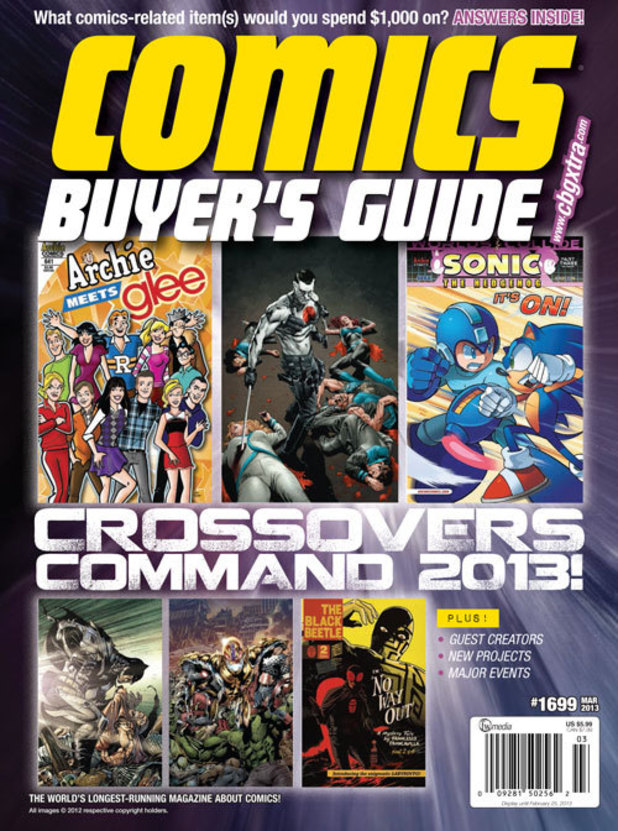 Comics Buyer's Guide cover