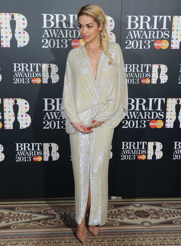 The Brit Awards 2013 launch night: Rita Ora
