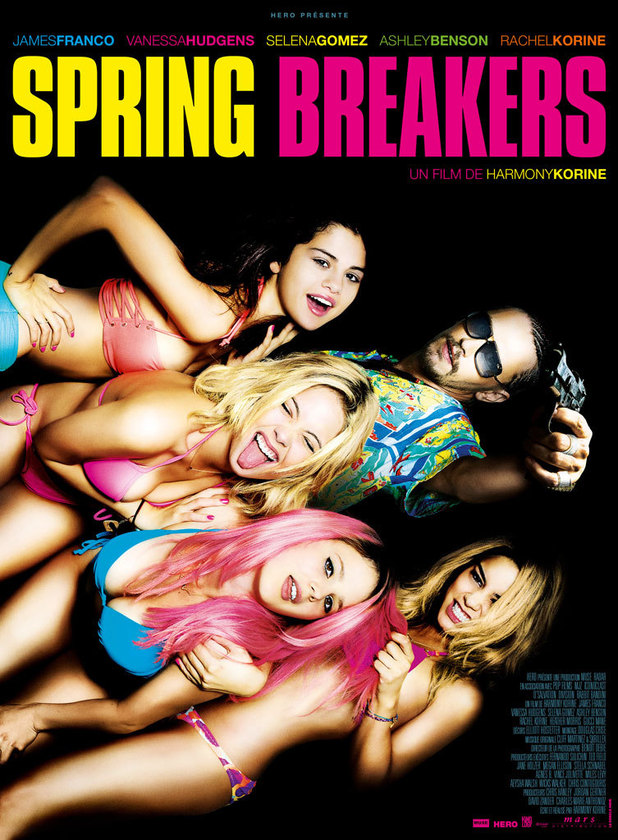 'Spring Breakers' poster