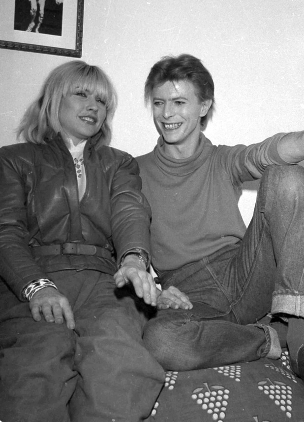Deborah Harry, David Bowie at the Booth Theatre
