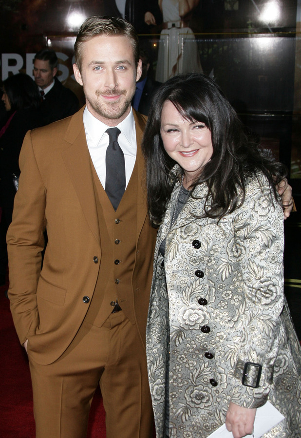 Ryan Gosling and mother Donna