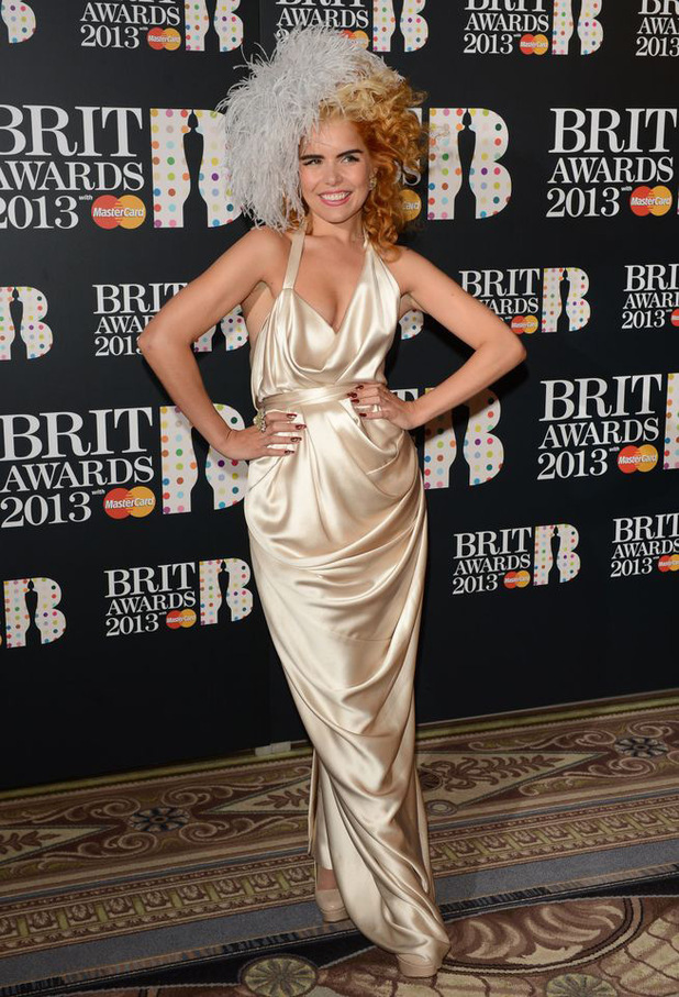 The Brit Awards 2013 launch night: Paloma Faith
