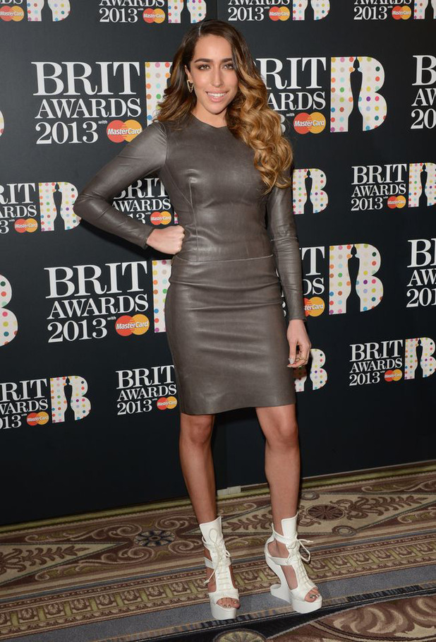 The Brit Awards 2013 launch night: Delilah
