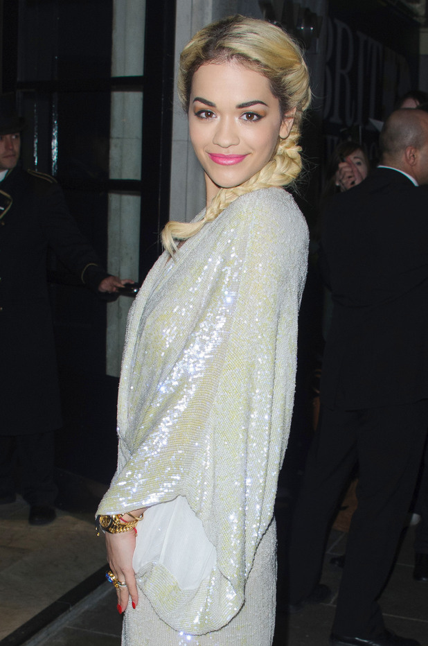 BRIT Awards 2013 Nominations Party held at the Savoy Featuring: Rita Ora Where: London, United Kingdom