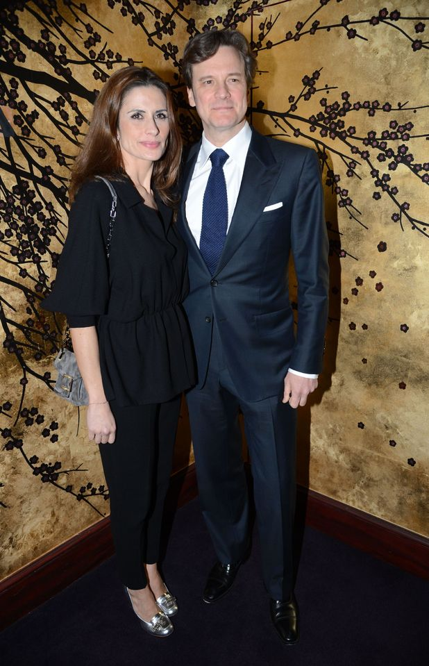 Livia and Colin Firth