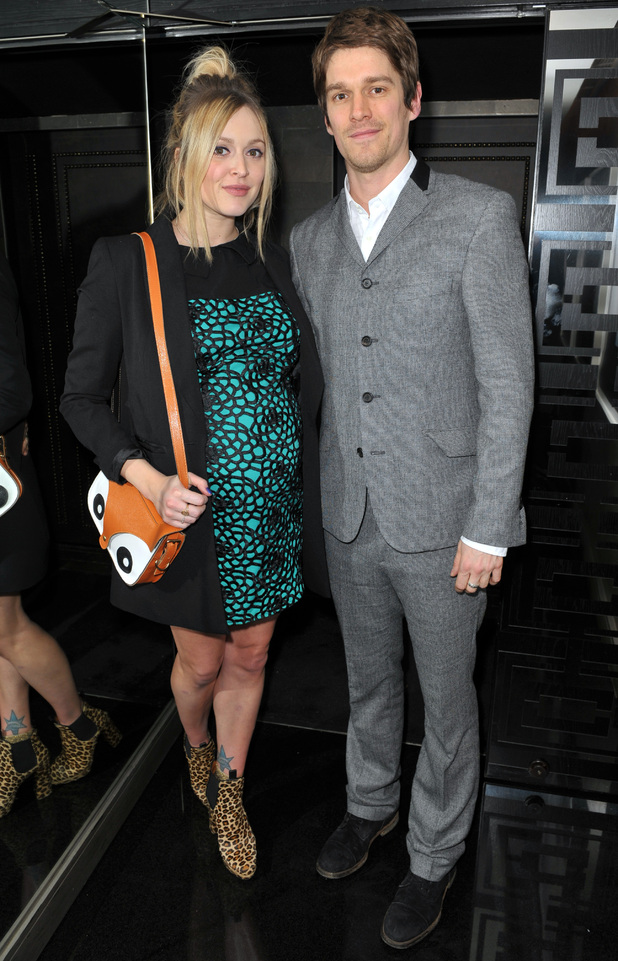 Jesse Wood, Fearne Cotton,  Liam Gallagher's 'Pretty Green London Collections: Men's Autumn/Winter 2013 Launch' held at The Arts Club