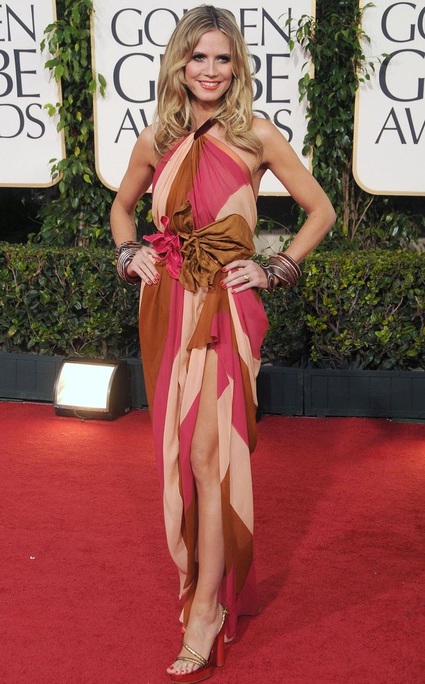 Heidi Klum, Golden Globes