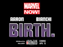 Marvel Comics releases a 'Birth' teaser for its latest initiative.