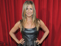 Jennifer Aniston wears leather dress at People's Choice awards, covering 'bump'?